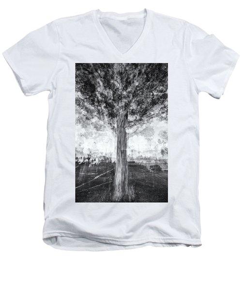 D1651p Men's V-Neck T-Shirt