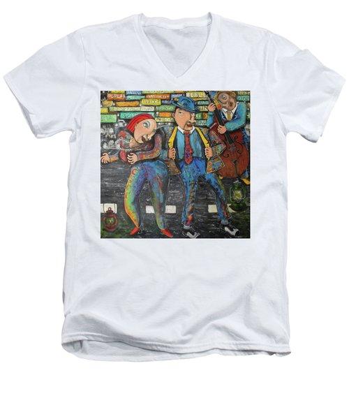 Dancing In The Street Men's V-Neck T-Shirt