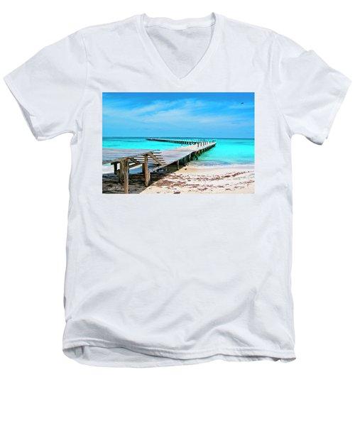 Departure Point Men's V-Neck T-Shirt
