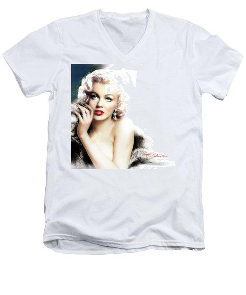 Diva Mm 169 Q Men's V-Neck T-Shirt