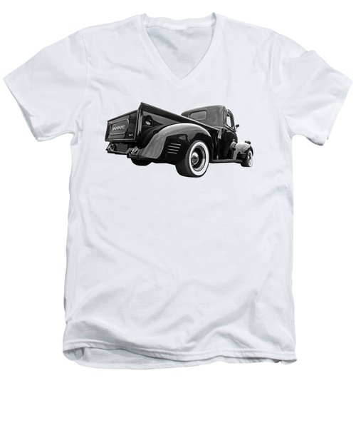 Dodge Truck 1947 Rear View Men's V-Neck T-Shirt