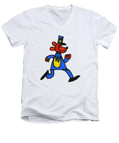 Dogman Men's V-Neck T-Shirt