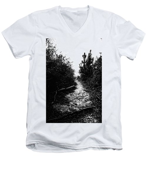 Down The Trail Men's V-Neck T-Shirt