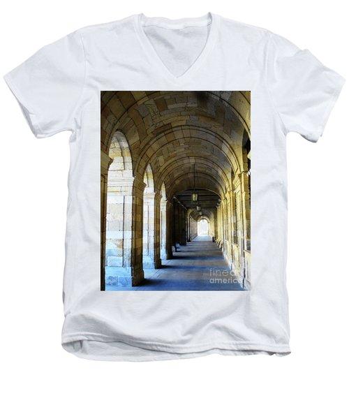 Drawn To The Light Men's V-Neck T-Shirt