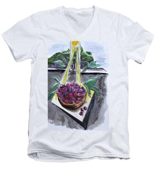 Dreams Of Grapes Men's V-Neck T-Shirt