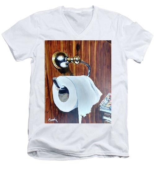 Duchamp's Paperwork Men's V-Neck T-Shirt