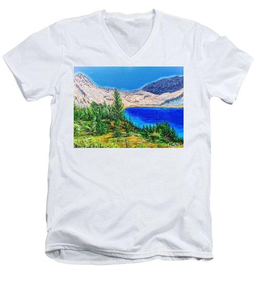 Duck Pass Men's V-Neck T-Shirt
