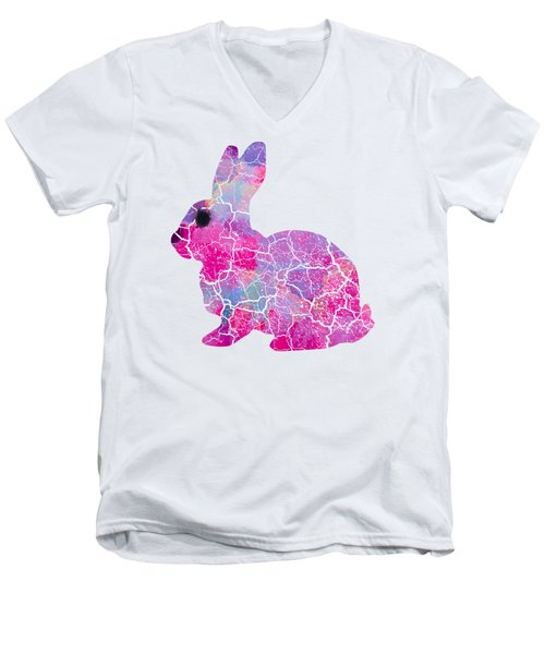 Easter Wall Art Men's V-Neck T-Shirt