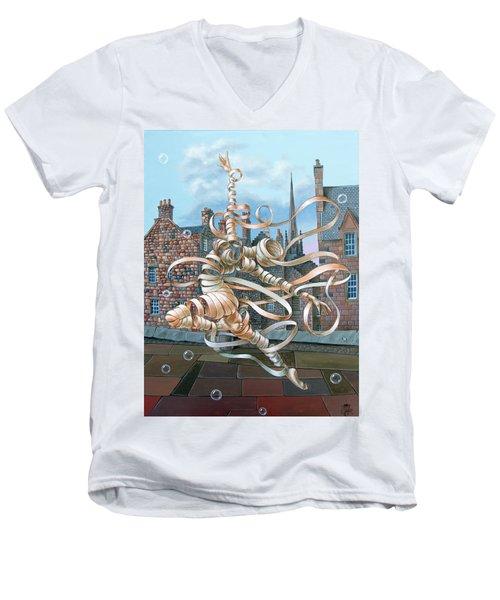 Edinburgh Men's V-Neck T-Shirt