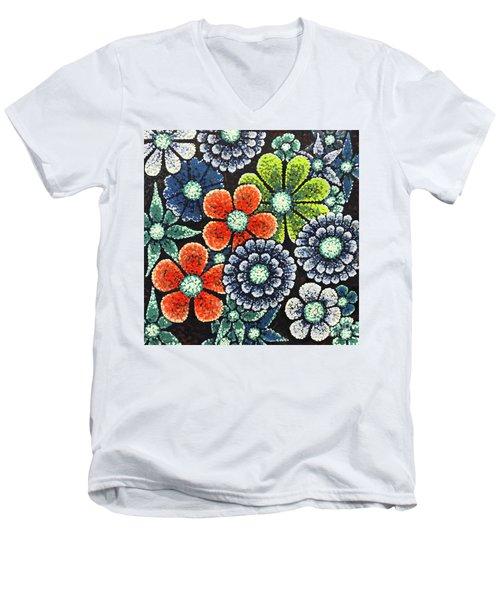 Efflorescent 3 Men's V-Neck T-Shirt