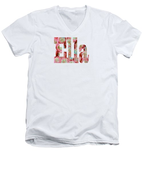 Ella Men's V-Neck T-Shirt