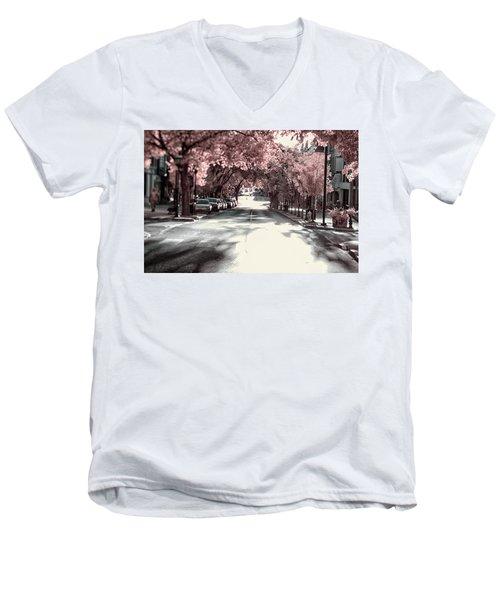 Empty Street Men's V-Neck T-Shirt