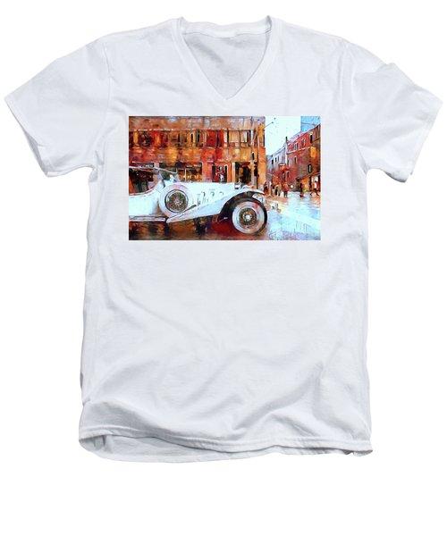 Excalibur Men's V-Neck T-Shirt