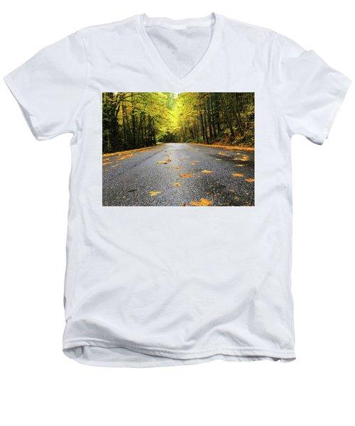 Fall Drive Men's V-Neck T-Shirt