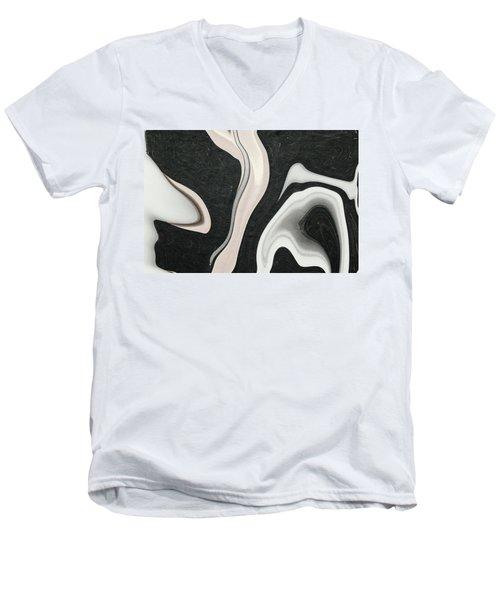 Feminine IIi Men's V-Neck T-Shirt