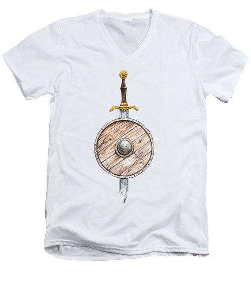 Fighter Men's V-Neck T-Shirt