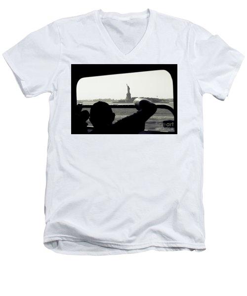 First Impressions Men's V-Neck T-Shirt