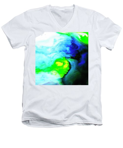 Fluctuating Awareness Men's V-Neck T-Shirt