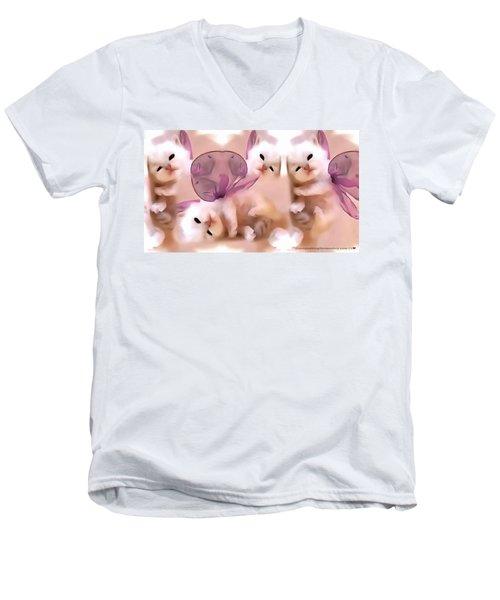 Flutter Fly Men's V-Neck T-Shirt