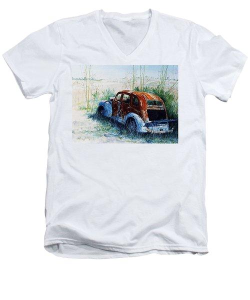 Forgotten. . .  Men's V-Neck T-Shirt