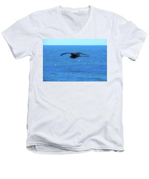 Frigatebird Men's V-Neck T-Shirt