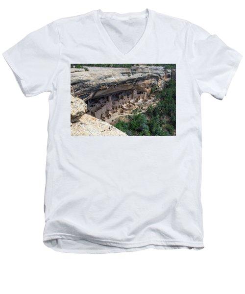From Above The Rim Men's V-Neck T-Shirt
