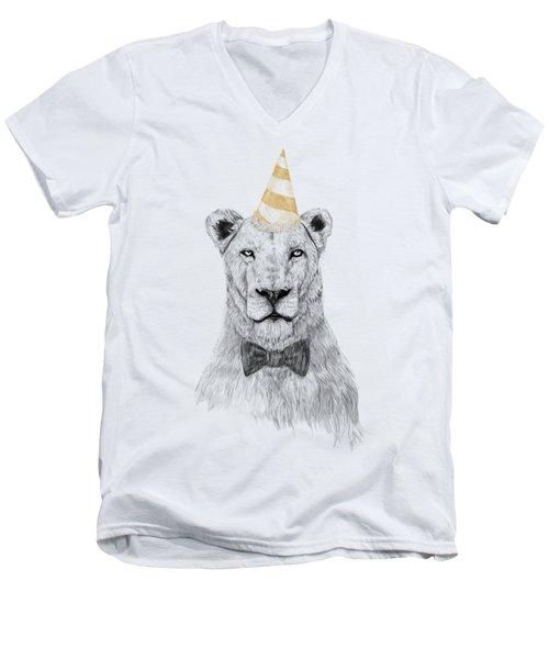 Get The Party Started Men's V-Neck T-Shirt