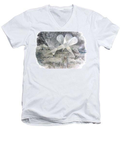 Ghostbusting The New Zealand Storm-petrel Men's V-Neck T-Shirt