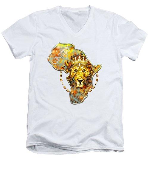 Glorious Heart Unit Men's V-Neck T-Shirt