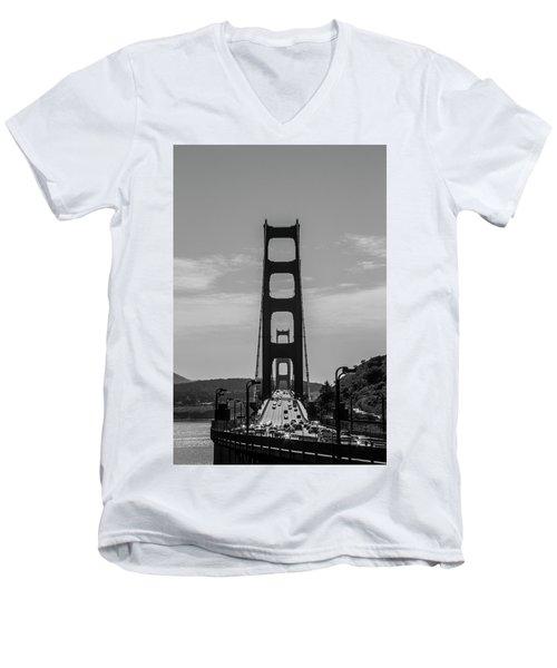 Golden Gate Men's V-Neck T-Shirt