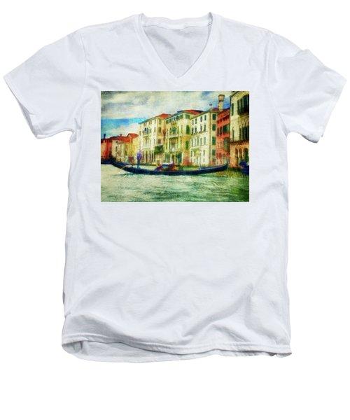 Gondola Ride Men's V-Neck T-Shirt