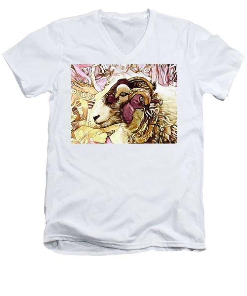 Got His Eye On Ewe Men's V-Neck T-Shirt
