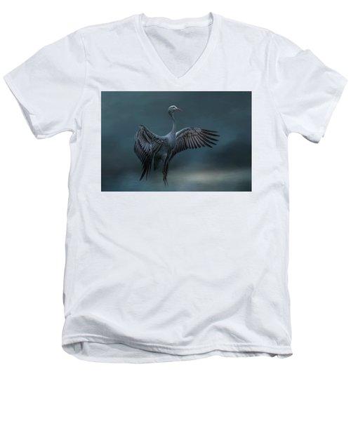 Graceful Dancer Men's V-Neck T-Shirt