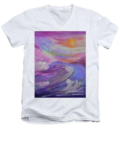 Grateful  Men's V-Neck T-Shirt