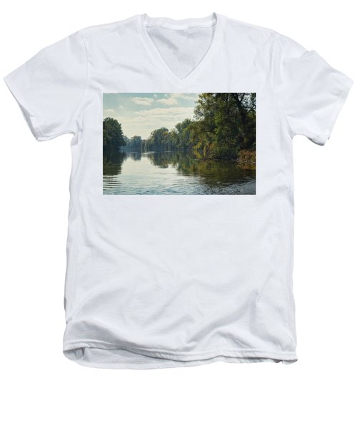 Great Morava River Men's V-Neck T-Shirt