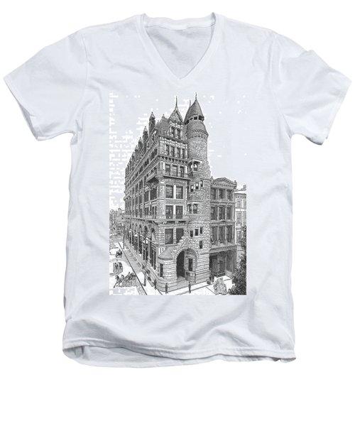 Hale Building Men's V-Neck T-Shirt