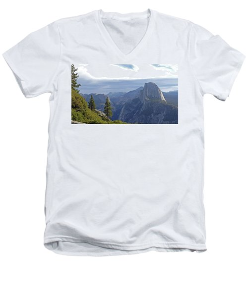 Half Dome Men's V-Neck T-Shirt