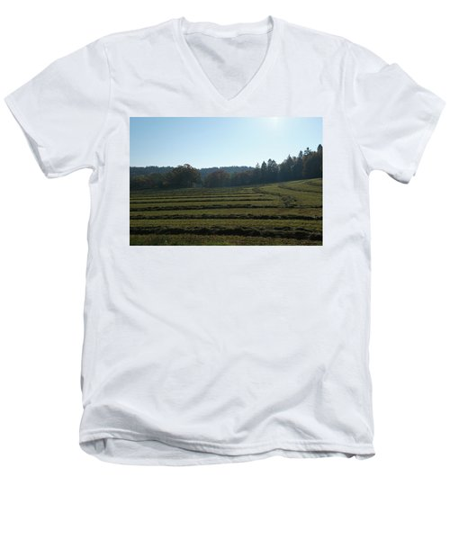 Haymaking Men's V-Neck T-Shirt