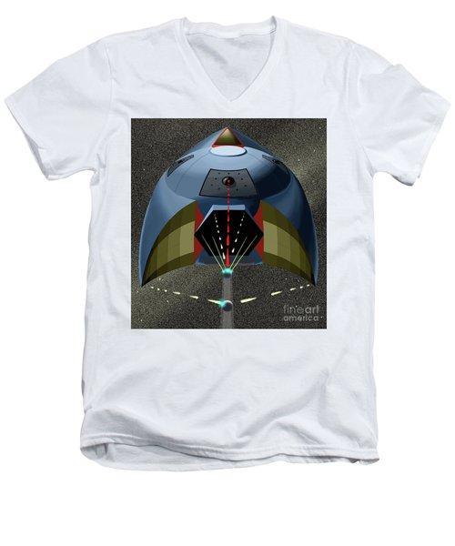Head On Attack Men's V-Neck T-Shirt