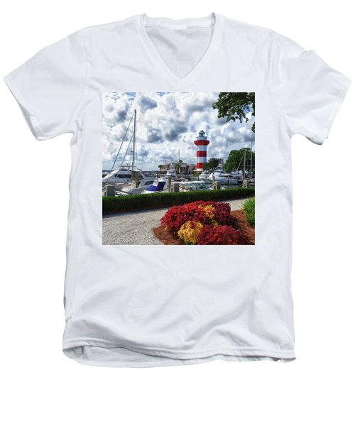 Hilton Head Island - Square Men's V-Neck T-Shirt
