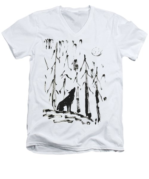 Howl #2 Men's V-Neck T-Shirt