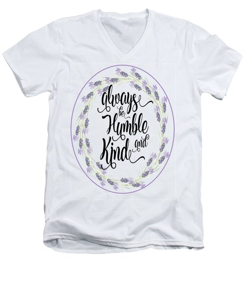 Humble And Kind Men's V-Neck T-Shirt
