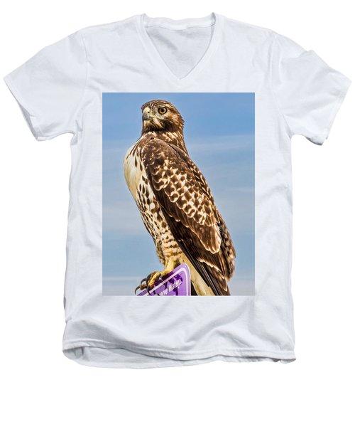 I Am Watching You Men's V-Neck T-Shirt