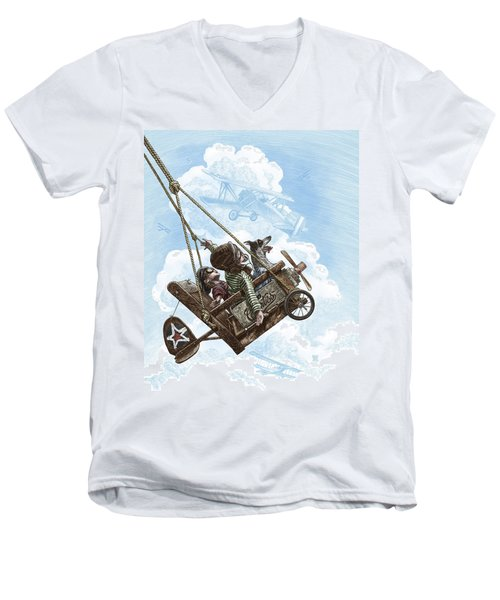 I Want To Fly Men's V-Neck T-Shirt