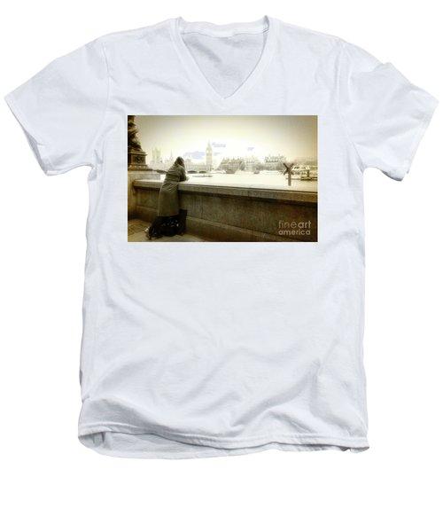 I Will Remember Men's V-Neck T-Shirt