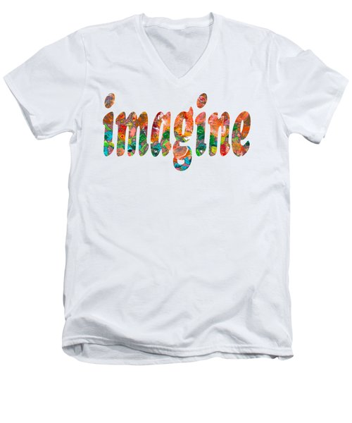 Imagine 1004 Men's V-Neck T-Shirt