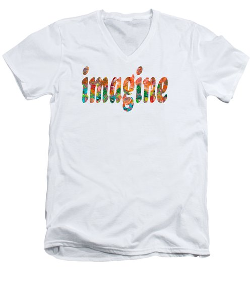 Imagine 1004 Men's V-Neck T-Shirt