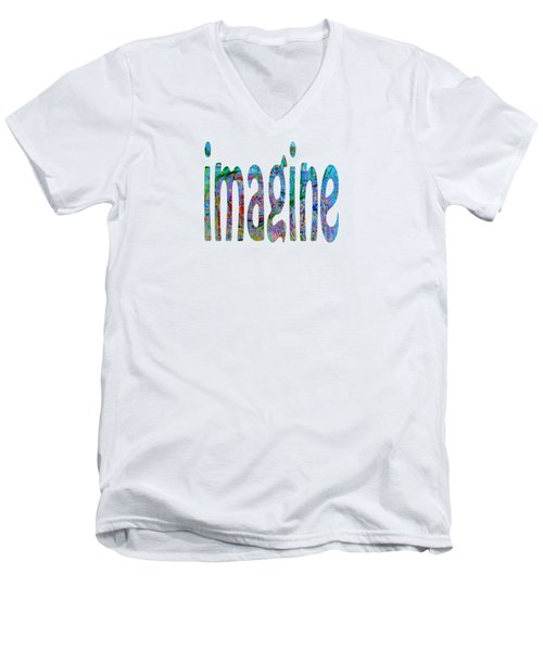 Imagine 1006 Men's V-Neck T-Shirt