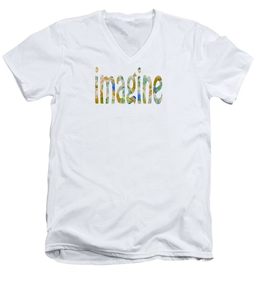 Imagine 1009 Men's V-Neck T-Shirt