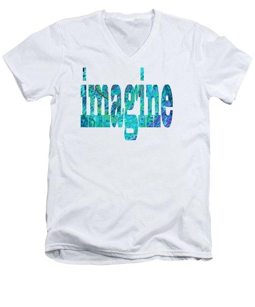 Imagine 1013 Men's V-Neck T-Shirt